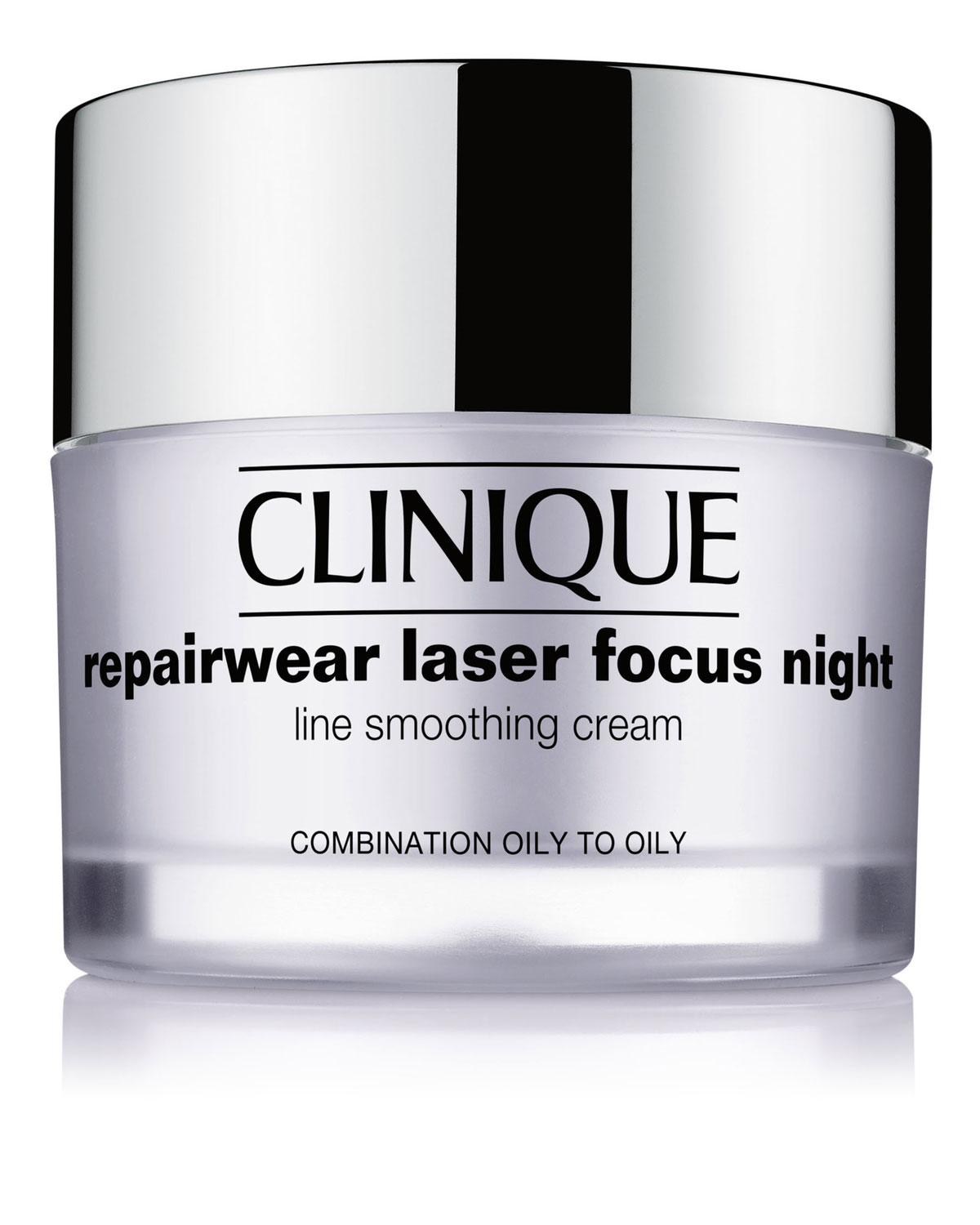 Repairwear Laser Focus Night Line Smoothing Cream For Combination Oily To Oily Skin 1.7 Oz/ 50 Ml