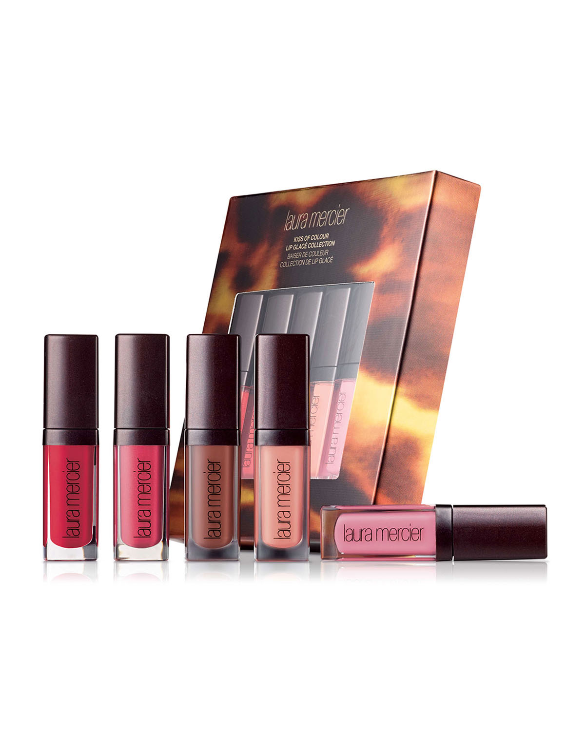 Limited Edition Kiss of Colour Lip Glacé Collection ($80 Value)