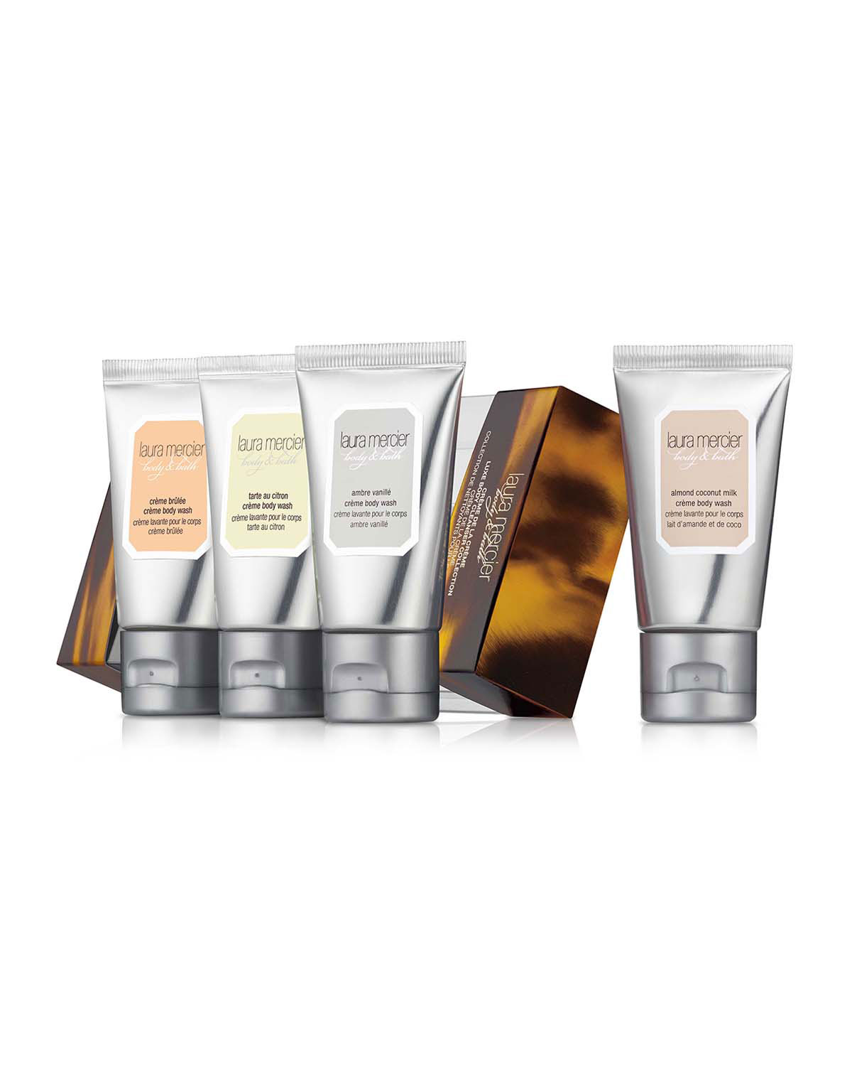 Limited Edition Crème de la Crème Luxe Body Cleanser Collection, 30 mL