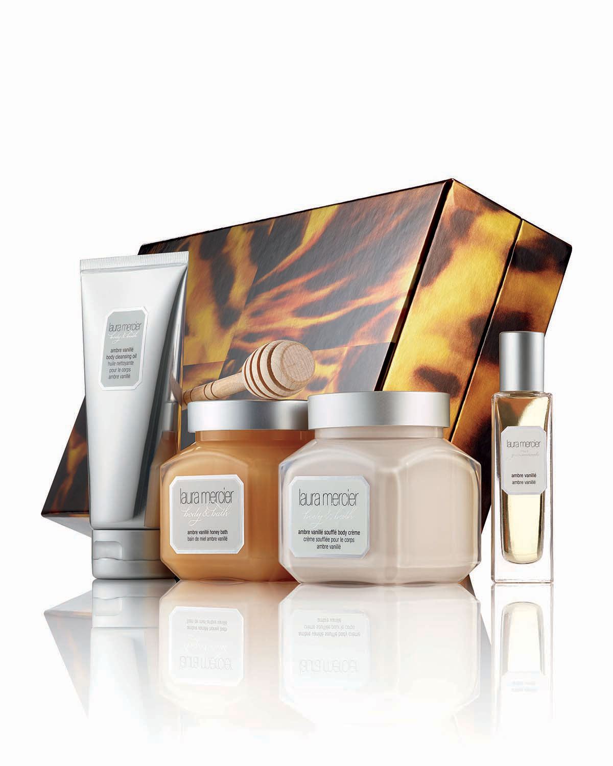 Limited Edition Sweet Temptations Ambre Vanillé Luxe Body Collection ($109 Value)