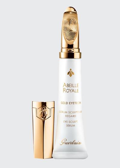 Abeille Royale Eye Sculpt Serum with 22K Gold Coated Applicator, 15 mL