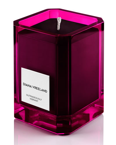 Outrageously Vibrant Candle