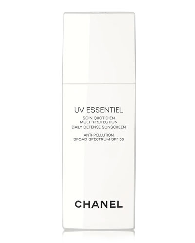 UV ESSENTIEL Multi-Protection Daily Defense Sunscreen Anti-Pollution Broad Spectrum SPF 50, 1.0 oz.