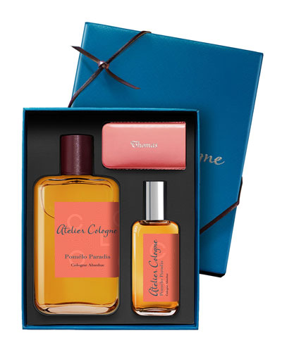 Pomelo Paradis Cologne Absolue, 200 mL with Personalized Travel Spray, 30 mL
