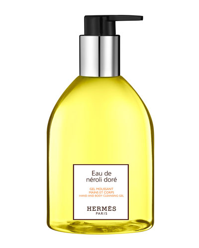 Eau de néroli doré Hand & Body Cleansing Gel, 10 oz.