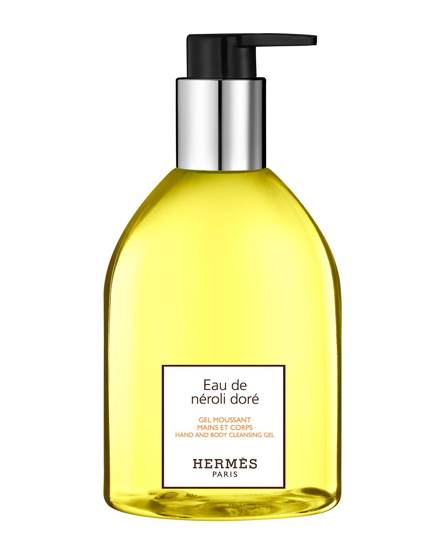 Herm S EAU DE NÉROLI DORÉ HAND & BODY CLEANSING GEL, 10 OZ.
