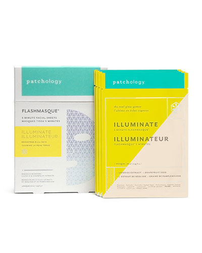 FlashMasque™ Illuminate Facial Sheets, 4-pack