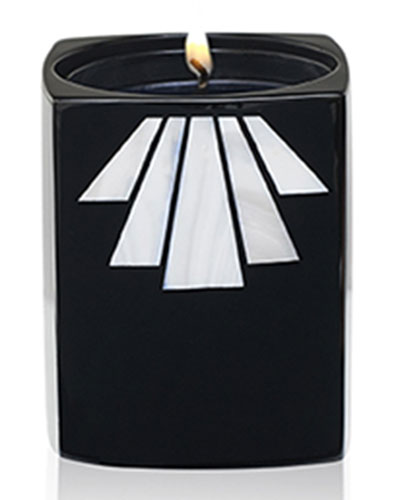 Loukoum Scented Candle in Wooden Holder, 7.76 oz.
