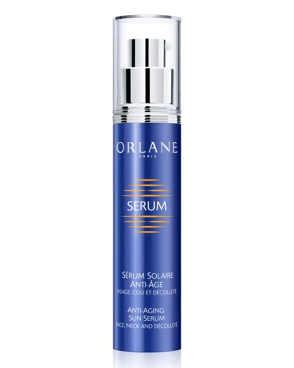 Orlane ANTI-AGING SUN SERUM FACE NECK AND DECOLLETE, 1.5 OZ./ 50 ML