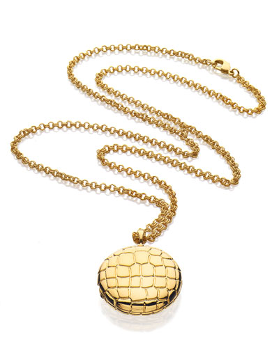Limited Edition Beautiful Golden Alligator Necklace