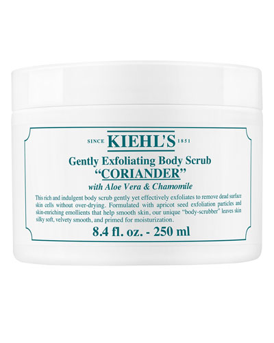 Coriander Gently Exfoliating Body Scrub. 8.4 oz.
