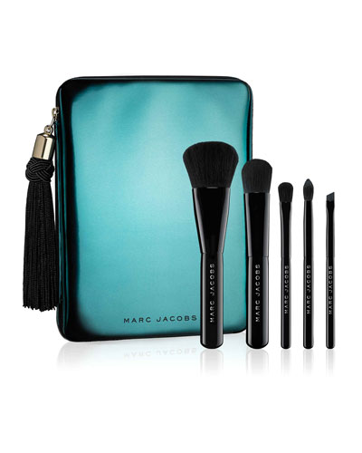 Limited Edition Your Place or Mine 5-Piece Travel Brush Collection