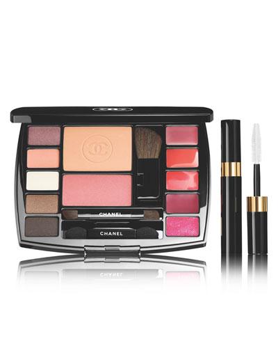 TRAVEL MAKEUP PALETTE - DESTINATION, 1PCE Makeup Essentials with Travel Mascara