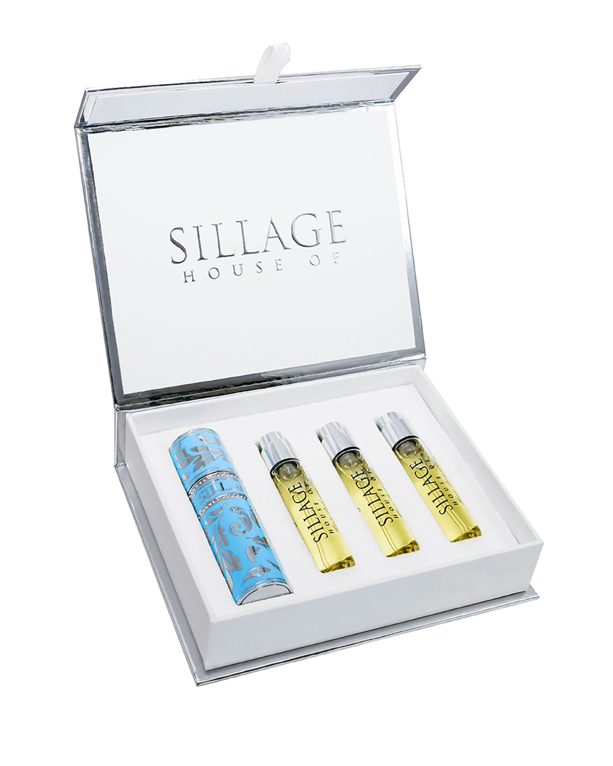 HOUSE OF SILLAGE Holiday Travel Spray With Refills, 0.3 Oz./ 8.0 Ml