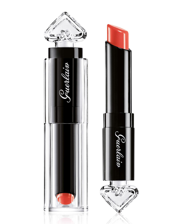 La Petite Robe Noire Deliciously Shiny Lipstick 071 Cashmere Hood 0.09 Oz/ 2.8 G, Leather Coffe 017