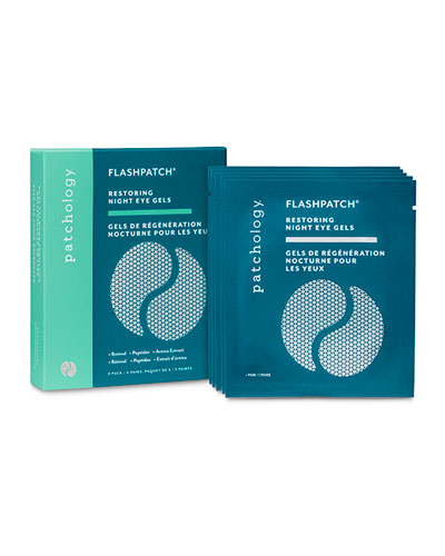 FlashPatch® Restoring Night Eye Gels, 5-Pack