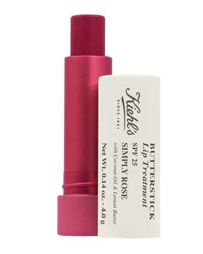 Butterstick Lip Treatment SPF 25, Simply Rose