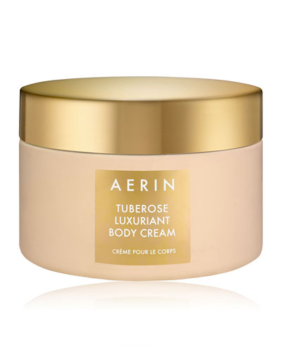 Tuberose Luxuriant Body Cream, 6.5 oz./192ml