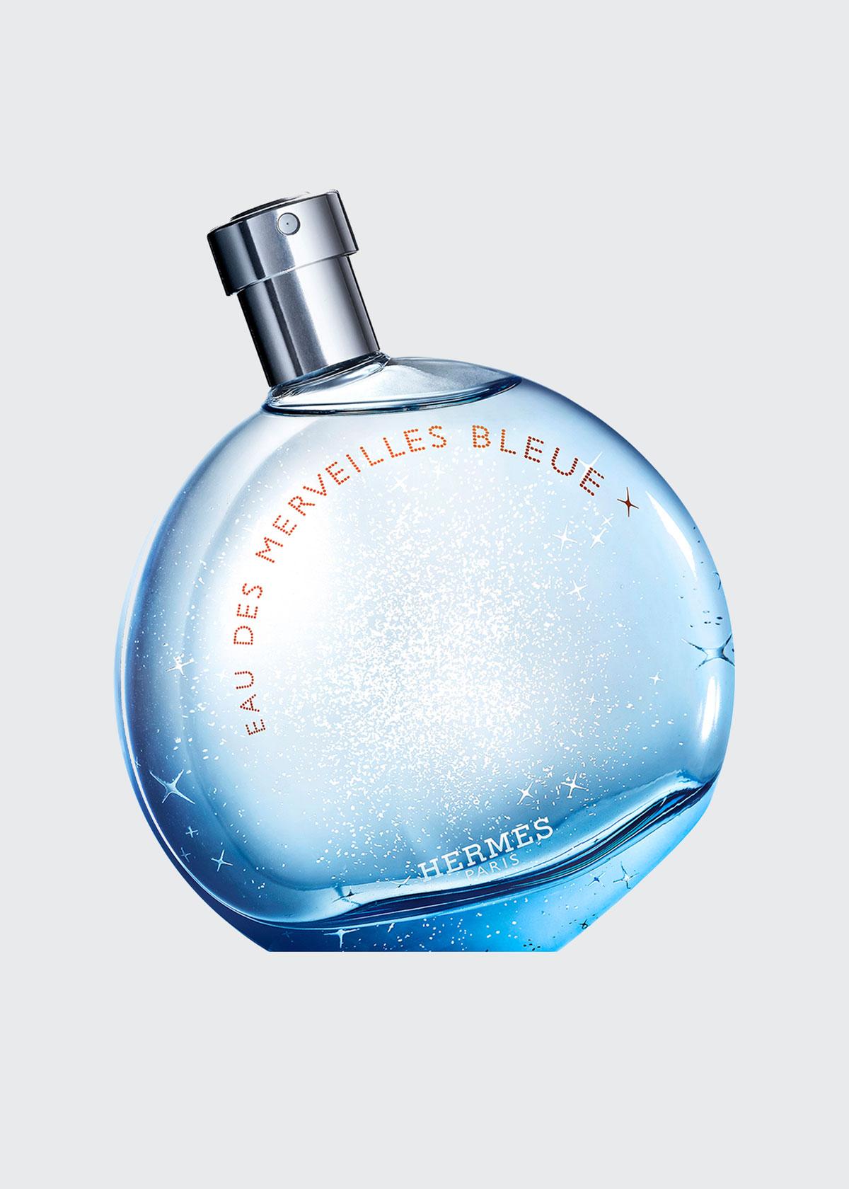 Herm S EAU DES MERVEILLES BLEUE EAU DE TOILETTE, 3.3 OZ./ 100 ML