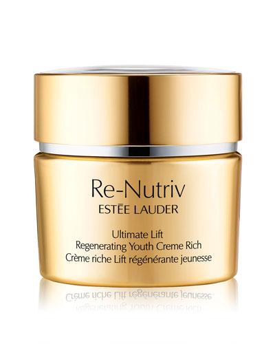 Re-Nutriv Ultimate Lift Regenerating Youth Creme Rich, 1.7 oz./ 50 mL