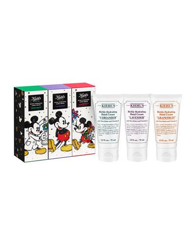 Special Edition Disney X Kiehl's Scented Hand Cream Trio