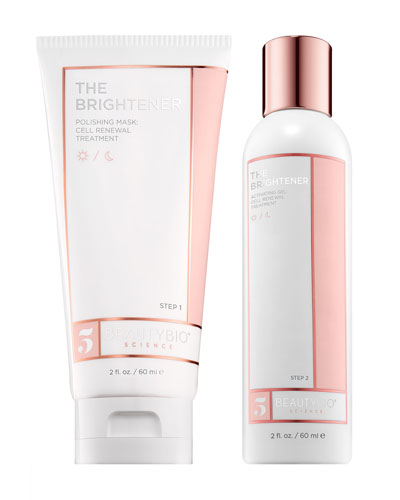 THE BRIGHTENER Two-Part Cell Renewal Treatment, 2 x 2.0 oz./ 60 mL