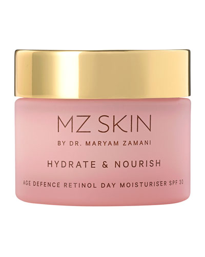 Hydrate & Nourish Age Defence Retinol Day Moisturiser SPF 30, 1.7 oz./ 50 mL