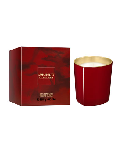 Limited Edition Rouge Malachite Candle, 6.3 oz./ 180 g