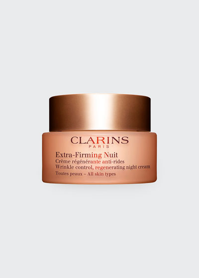 Extra-Firming Wrinkle Control Regenerating Night Cream - All Skin Types, 1.6 oz./ 50 mL