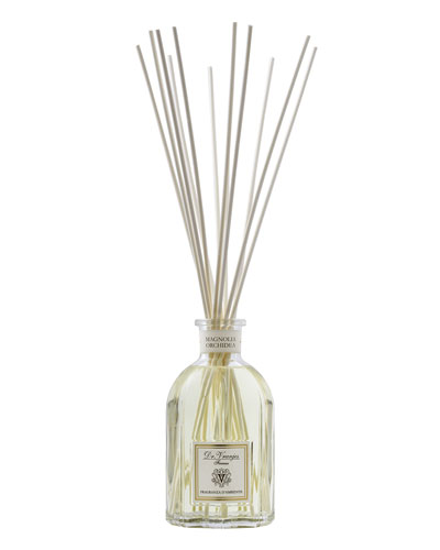 Magnolia Orchidea Glass Bottle Home Fragrance, 8.5 oz./ 250 mL