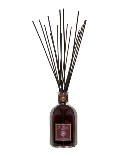 Rosso Nobile Vase Glass Bottle Collection Fragrance, 169 oz./ 5000 mL