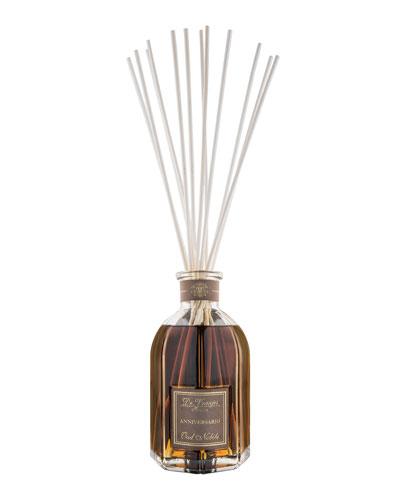 Oud Nobile Vase Glass Bottle Collection Fragrance, 169 oz./ 5000 mL