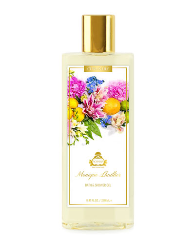 Monique Lhuillier Citrus Lily Bath & Shower Gel, 8.45 oz./ 250 mL