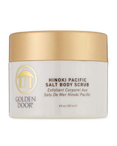 Hinoki Pacific Salt Body Scrub, 8.0 oz./ 237 mL