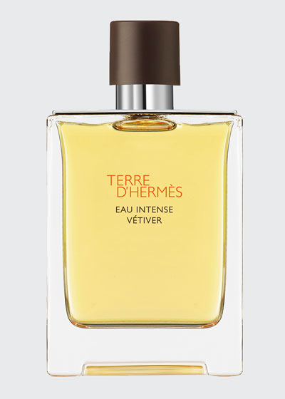 Terre d'Hermès Eau Intense Vétiver Eau de Parfum, 3.3 oz./ 100 mL