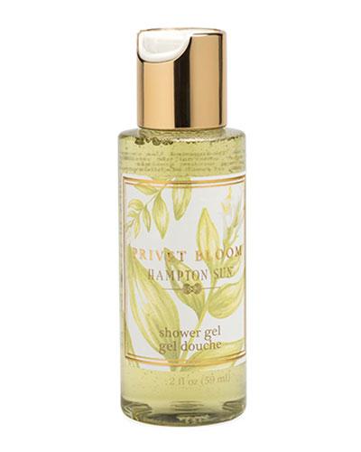 Privet Bloom Shower Gel, 2 oz./ 59 mL