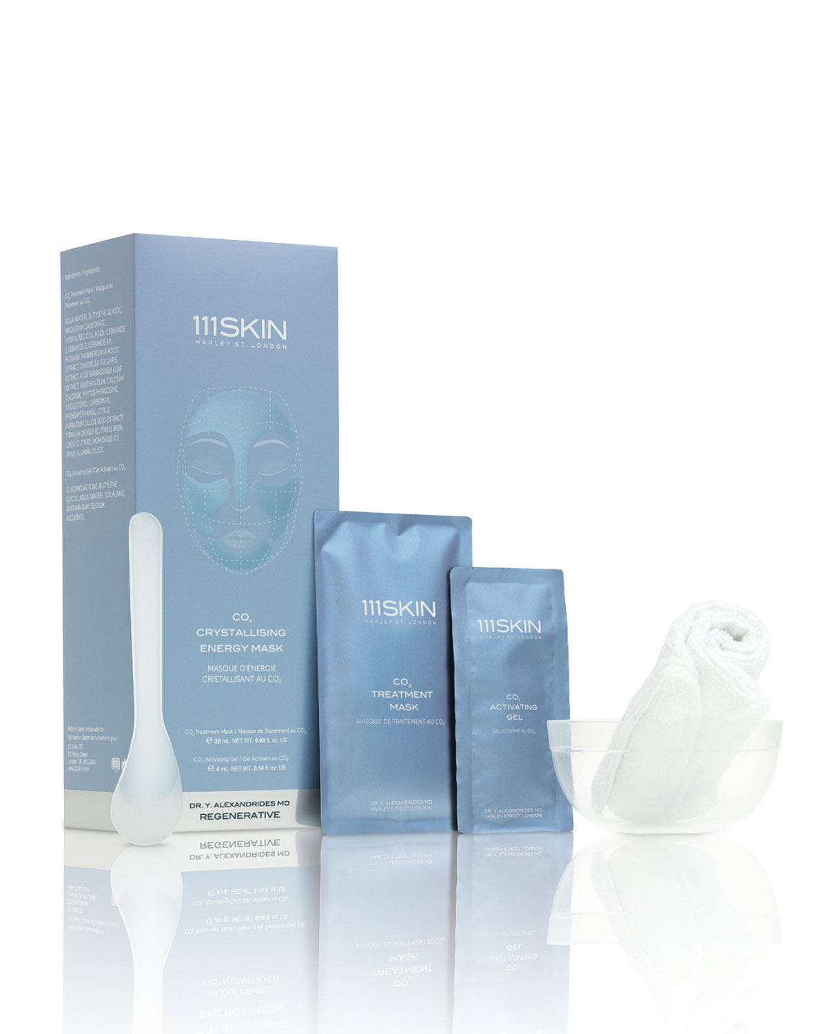 111skin CO2 CRYSTALLIZING ENERGY MASK, FIVE APPLICATIONS