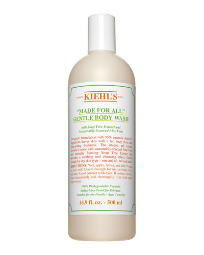 Made For All Gentle Body Wash, 16.9 oz./ 500 mL
