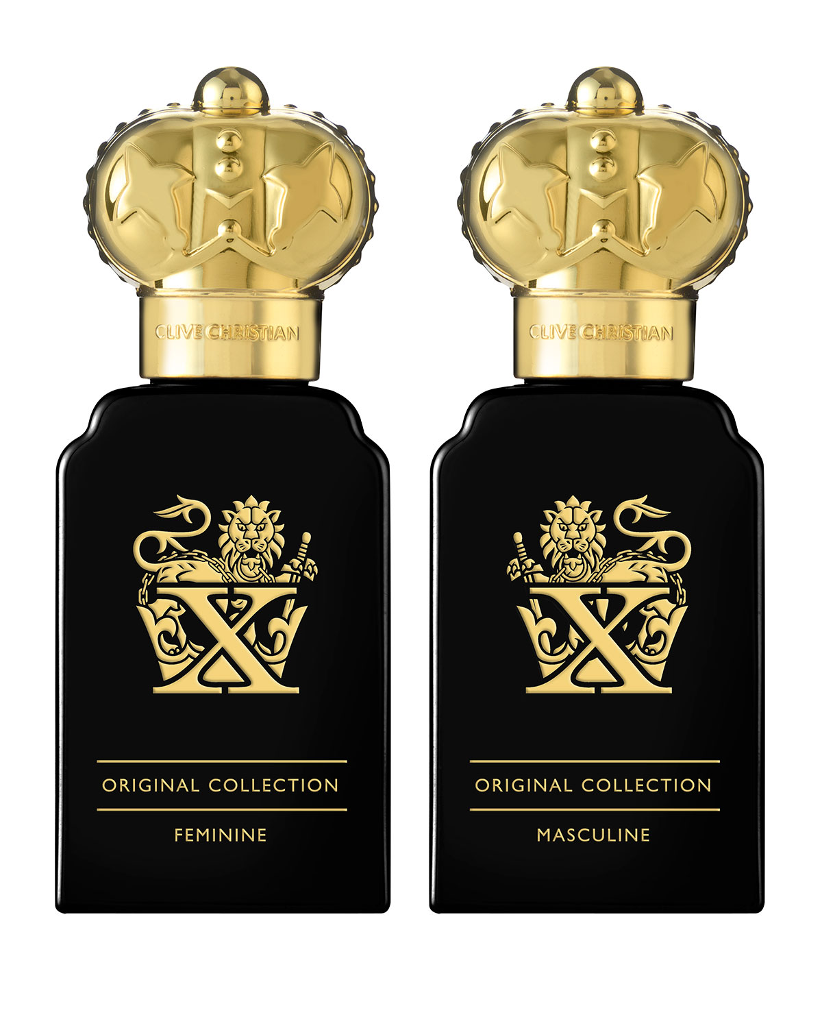 Clive Christian ORIGINAL COLLECTION X PERFUME GIFT SET, 2 X 10 ML