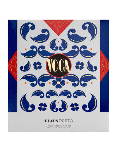 Claus Porto VOGA Hand Cream, Soap and Dish