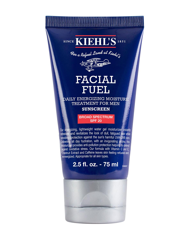 Kiehl's Since 1851 FACIAL FUEL DAILY ENERGIZING MOISTURE TREATMENT FOR MEN SPF 20, 2.5 OZ./ 75 ML