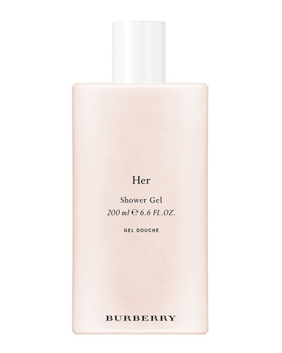 Burberry Her Limited Edition Shower Gel, 6.8 oz./ 200 mL