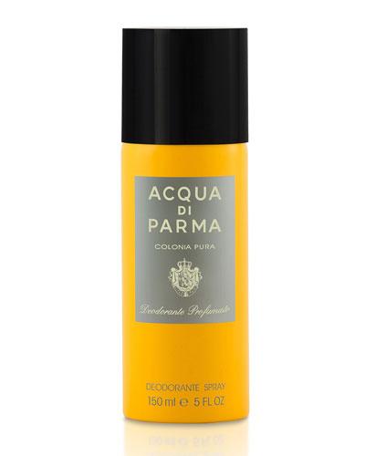 Colonia Pura Deodorant Spray, 5 oz./ 150 mL