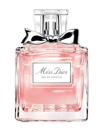 Miss Dior Eau de Toilette, 1.7 oz.