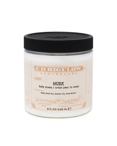 Musk Body Cream, 8 oz./ 236 mL