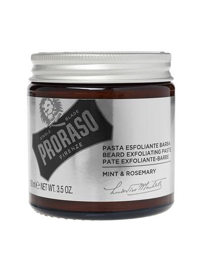 Exfoliating Beard Paste & Face Scrub, 3.5 oz./ 103.5 mL