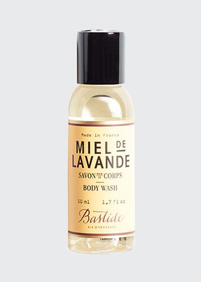 Miel de Lavande Body Wash, 1.7 oz./ 50 mL