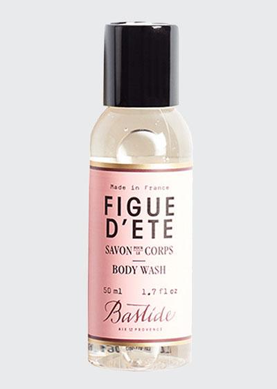 Figue d'Ete Body Wash, 1.7 oz./ 50 mL