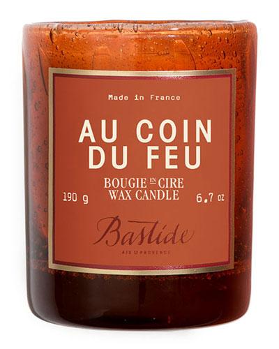 Au Coin du Feu Candle, 6.7 oz./190 g