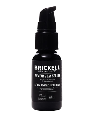 Brickell Men's Products Reviving Day Serum, 1 oz./
